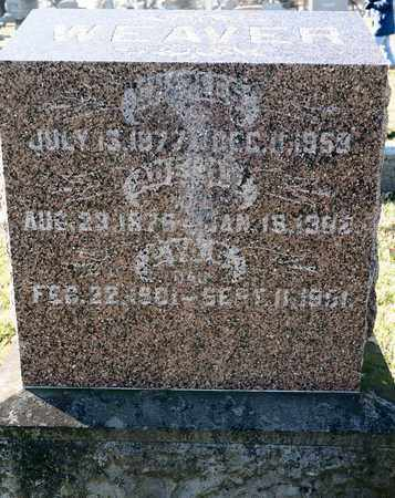 GUENTHER WEAVER, ADELINE - Richland County, Ohio | ADELINE GUENTHER WEAVER - Ohio Gravestone Photos