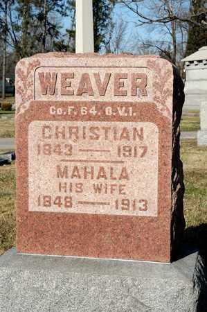 WEAVER, MAHALA - Richland County, Ohio | MAHALA WEAVER - Ohio Gravestone Photos
