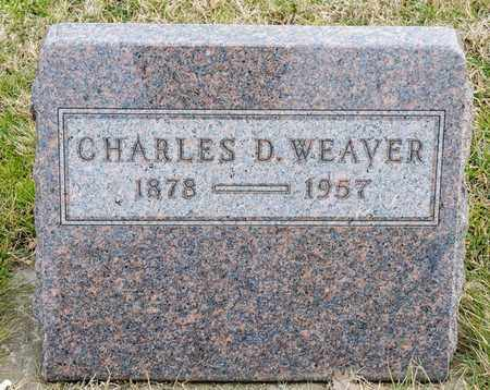 WEAVER, CHARLES D - Richland County, Ohio | CHARLES D WEAVER - Ohio Gravestone Photos