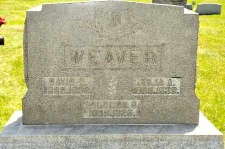 WEAVER, DAVID - Richland County, Ohio | DAVID WEAVER - Ohio Gravestone Photos