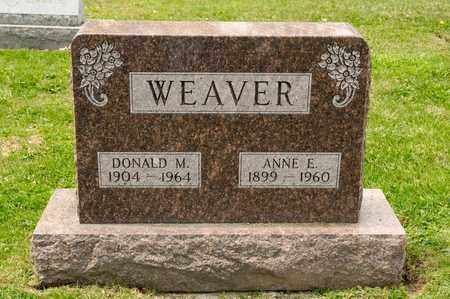 WEAVER, ANNE E - Richland County, Ohio | ANNE E WEAVER - Ohio Gravestone Photos