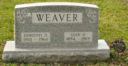 WEAVER, GLEN O - Richland County, Ohio | GLEN O WEAVER - Ohio Gravestone Photos