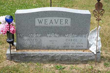 WEAVER, CAROL J - Richland County, Ohio | CAROL J WEAVER - Ohio Gravestone Photos