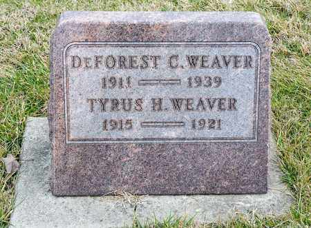 WEAVER, DEFOREST C - Richland County, Ohio | DEFOREST C WEAVER - Ohio Gravestone Photos