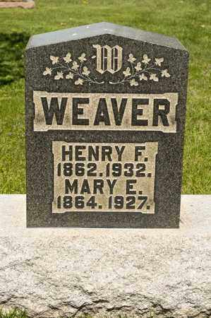 WEAVER, HENRY F - Richland County, Ohio | HENRY F WEAVER - Ohio Gravestone Photos