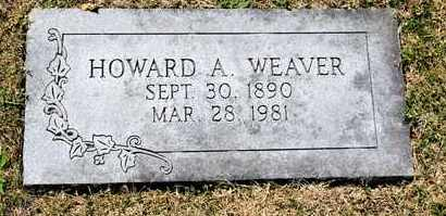 WEAVER, HOWARD A - Richland County, Ohio | HOWARD A WEAVER - Ohio Gravestone Photos