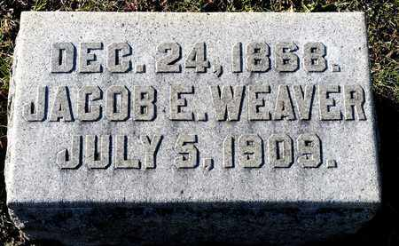 WEAVER, JACOB E - Richland County, Ohio | JACOB E WEAVER - Ohio Gravestone Photos