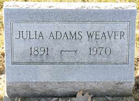 WEAVER, JULIA - Richland County, Ohio | JULIA WEAVER - Ohio Gravestone Photos