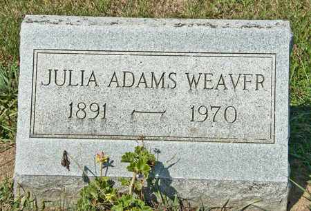WEAVER, JULIA - Richland County, Ohio | JULIA WEAVER - Ohio Gravestone Photos