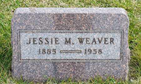 WEAVER, JESSIE M - Richland County, Ohio | JESSIE M WEAVER - Ohio Gravestone Photos