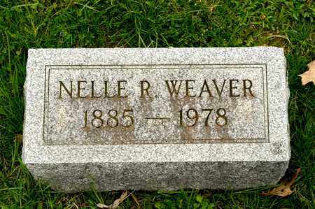 WEAVER, NELLE R - Richland County, Ohio | NELLE R WEAVER - Ohio Gravestone Photos