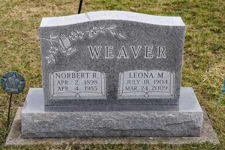 WEAVER, NORBERT R - Richland County, Ohio | NORBERT R WEAVER - Ohio Gravestone Photos