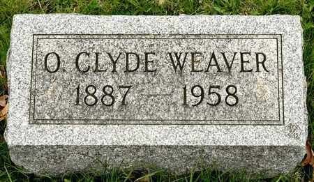 WEAVER, O CLYDE - Richland County, Ohio | O CLYDE WEAVER - Ohio Gravestone Photos