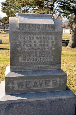 WEAVER, PETER - Richland County, Ohio | PETER WEAVER - Ohio Gravestone Photos
