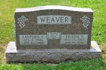 WEAVER, SANFORD C - Richland County, Ohio | SANFORD C WEAVER - Ohio Gravestone Photos