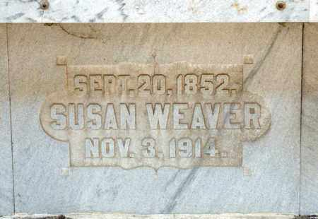 WEAVER, SUSAN - Richland County, Ohio | SUSAN WEAVER - Ohio Gravestone Photos