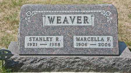 WEAVER, MARCELLA F - Richland County, Ohio | MARCELLA F WEAVER - Ohio Gravestone Photos