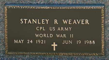 WEAVER, STANLEY R - Richland County, Ohio | STANLEY R WEAVER - Ohio Gravestone Photos