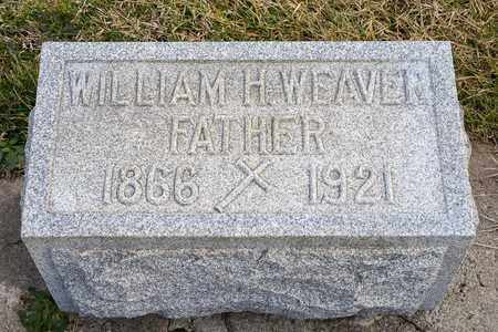 WEAVER, WILLIAM H - Richland County, Ohio | WILLIAM H WEAVER - Ohio Gravestone Photos