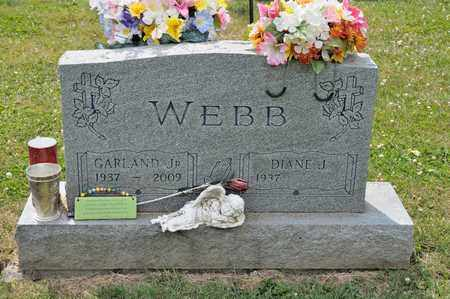 WEBB JR, GARLAND - Richland County, Ohio | GARLAND WEBB JR - Ohio Gravestone Photos
