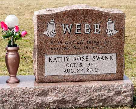SWANK WEBB, KATHY ROSE - Richland County, Ohio | KATHY ROSE SWANK WEBB - Ohio Gravestone Photos