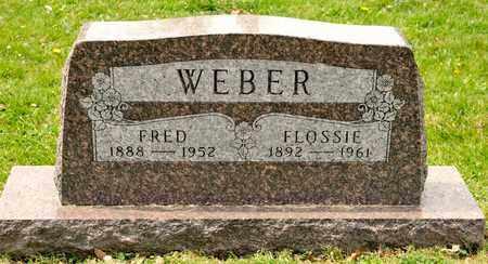 WEBER, FLOSSIE - Richland County, Ohio | FLOSSIE WEBER - Ohio Gravestone Photos