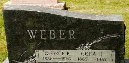 WEBER, GEORGE P - Richland County, Ohio | GEORGE P WEBER - Ohio Gravestone Photos