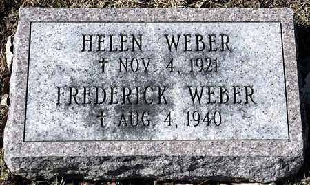 WEBER, FREDERICK - Richland County, Ohio | FREDERICK WEBER - Ohio Gravestone Photos