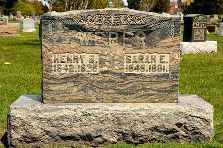 WEBER, HENRY S - Richland County, Ohio | HENRY S WEBER - Ohio Gravestone Photos