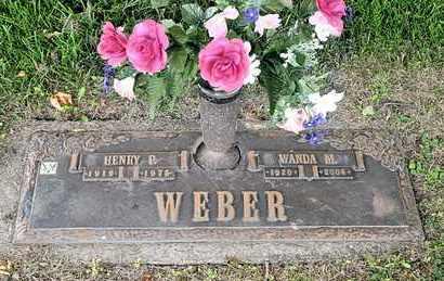 WEBER, WANDA M - Richland County, Ohio | WANDA M WEBER - Ohio Gravestone Photos