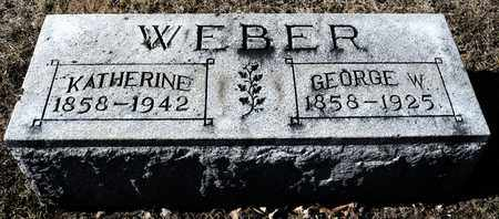 WEBER, KATHERINE - Richland County, Ohio | KATHERINE WEBER - Ohio Gravestone Photos