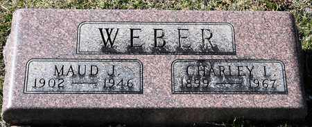 WEBER, MAUD J - Richland County, Ohio | MAUD J WEBER - Ohio Gravestone Photos