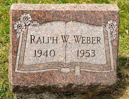WEBER, RALPH W - Richland County, Ohio | RALPH W WEBER - Ohio Gravestone Photos