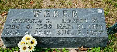 WEBER, VIRGINIA C - Richland County, Ohio | VIRGINIA C WEBER - Ohio Gravestone Photos