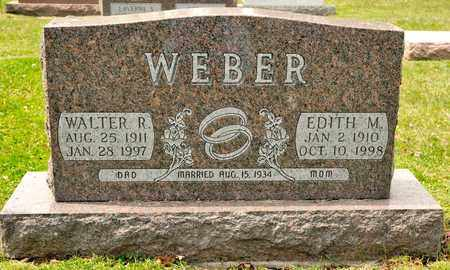 WEBER, WALTER R - Richland County, Ohio | WALTER R WEBER - Ohio Gravestone Photos