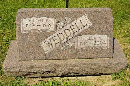 WEDDELL, LOELLA M - Richland County, Ohio | LOELLA M WEDDELL - Ohio Gravestone Photos