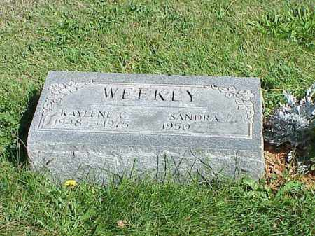 WEEKLY, KAYLENE C. - Richland County, Ohio | KAYLENE C. WEEKLY - Ohio Gravestone Photos