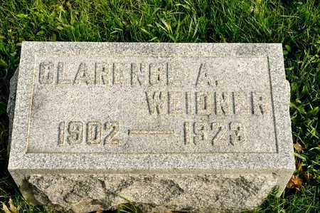 WEIDNER, CLARENCE A - Richland County, Ohio | CLARENCE A WEIDNER - Ohio Gravestone Photos