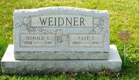 WEIDNER, FAYE S - Richland County, Ohio | FAYE S WEIDNER - Ohio Gravestone Photos