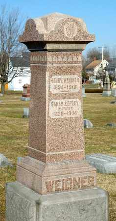 WEIDNER, HENRY - Richland County, Ohio | HENRY WEIDNER - Ohio Gravestone Photos
