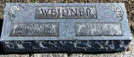 WEIDNER, MARY R - Richland County, Ohio | MARY R WEIDNER - Ohio Gravestone Photos