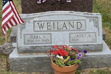 WEILAND, CARL V - Richland County, Ohio | CARL V WEILAND - Ohio Gravestone Photos