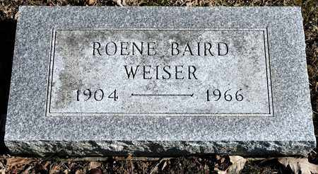WEISER, ROENE - Richland County, Ohio | ROENE WEISER - Ohio Gravestone Photos