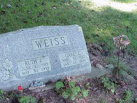 WEISS, CARL E. - Richland County, Ohio | CARL E. WEISS - Ohio Gravestone Photos