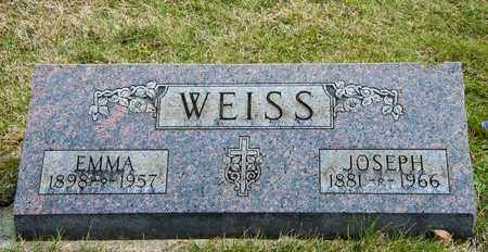 WEISS, EMMA - Richland County, Ohio | EMMA WEISS - Ohio Gravestone Photos