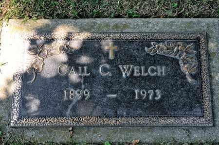 WELCH, GAIL C - Richland County, Ohio | GAIL C WELCH - Ohio Gravestone Photos