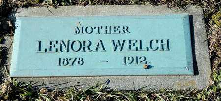 WELCH, LENORA - Richland County, Ohio | LENORA WELCH - Ohio Gravestone Photos
