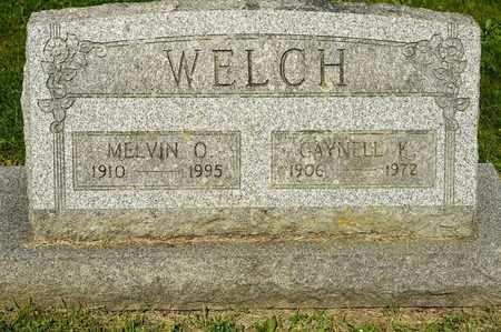 WELCH, GAYNELL K - Richland County, Ohio | GAYNELL K WELCH - Ohio Gravestone Photos