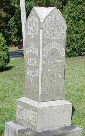 WELLS, RACHEL - Richland County, Ohio | RACHEL WELLS - Ohio Gravestone Photos