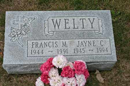 WELTY, JAYNE C - Richland County, Ohio | JAYNE C WELTY - Ohio Gravestone Photos